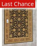 J. Aziz Peshawar Black-Brown 86952 9' 2'' x 12' 4'' Rug