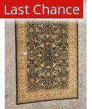 J. Aziz Peshawar Black-Beige 87018 10' 3'' x 14' 4'' Rug
