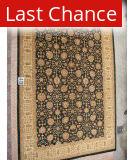 J. Aziz Peshawar Black-Beige 86928 11' 6'' x 17' 3'' Rug