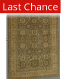 J. Aziz Peshawar Green-LtBrown 86949 9' 11'' x 14' 3'' Rug