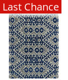 Rugstudio Sample Sale 112823R Blue Area Rug