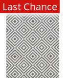 Rugstudio Sample Sale 141131R Charcoal - Ivory Area Rug