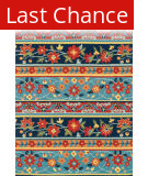 Rugstudio Sample Sale 92100R Blue / Multi Area Rug