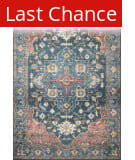 Rugstudio Sample Sale 206695R Denim - Brick Area Rug