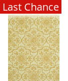 Rugstudio Sample Sale 92326R Ivory / Buttercup Area Rug