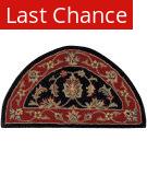 Rugstudio Sample Sale 179554R Black - Red Area Rug