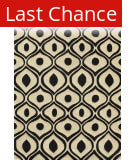 Rugstudio Sample Sale 161848R Black Area Rug