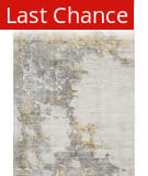 Rugstudio Sample Sale 192201R Ivory - Gold Area Rug
