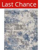 Rugstudio Sample Sale 205601R Grey - Blue Area Rug