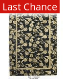 ORG Destin Two Tone Black Area Rug