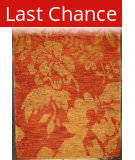 ORG Premium Tibetan Luau Red Earth Area Rug