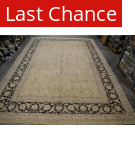 Org Antique Repro Sm-160 Ivory - Black Area Rug