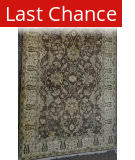 ORG Peshawar Ult-126 Brown And Beige Area Rug