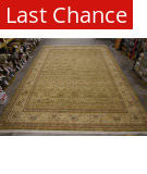 Org 16/18 Shah Abbas William Morris Light Olive/Ivory Area Rug