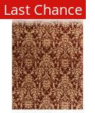 ORG Tibetan Weave 457 Deep Rust Area Rug