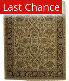 ORG Ovations St-9 Beige-Red Area Rug