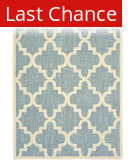 Rugstudio Sample Sale 189549R Blue - Ivory Area Rug