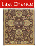 Rugstudio Sample Sale 110481R Brown Area Rug