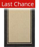 Rugstudio Sample Sale 167441R Sand - Charcoal Area Rug