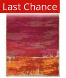 PANTONE UNIVERSE Expressions 5501r Orange/ Pink Area Rug