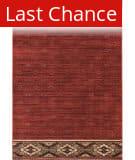 Rugstudio Sample Sale 195411R Red - Gold Area Rug