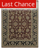 Ramerian Luana 3800-CD Red - Ebony Area Rug