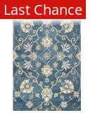 Rugstudio Sample Sale 180105R Blue Area Rug
