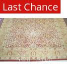 Rugstudio Sample Sale 1604 Rust - Gold Area Rug
