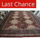Rugstudio Sample Sale Semnan Red - Navy Blue Area Rug