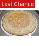 Rugstudio Sample Sale 1602 Rust - Lemon Area Rug