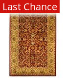 Rugstudio Sample Sale 46763R Red / Gold Area Rug