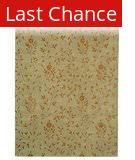 Rugstudio Sample Sale 47141R Beige / Rust Area Rug