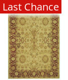Rugstudio Sample Sale 46275R Ivory / Red Area Rug