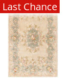 Rugstudio Sample Sale 46319R Ivory / Light Blue Area Rug