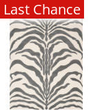 Rugstudio Sample Sale 154969R Ivory - Dark Grey Area Rug