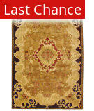 Rugstudio Sample Sale 49683R Gold / Cola Area Rug