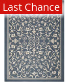 Rugstudio Sample Sale 98714R Navy / Beige Area Rug