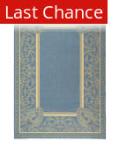 Rugstudio Sample Sale 98813R Blue / Natural Area Rug