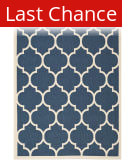 Rugstudio Sample Sale 99038R Navy / Beige Area Rug