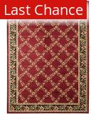 Rugstudio Sample Sale 63182R Red / Black Area Rug