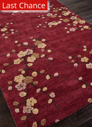Rugstudio Sample Sale 82117R Red Area Rug
