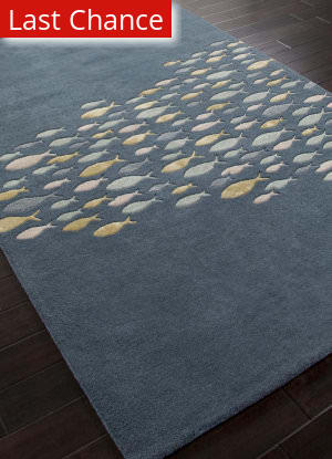 Addison And Banks Hand Tufted Abr0175 Aegean Blue Outlet Area Rug