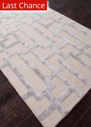 Rugstudio Sample Sale 82168R Silver Gray/Medium Gray Area Rug