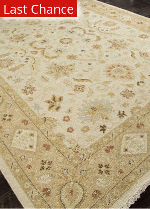 Rugstudio Sample Sale 103617R Dark Ivory Area Rug