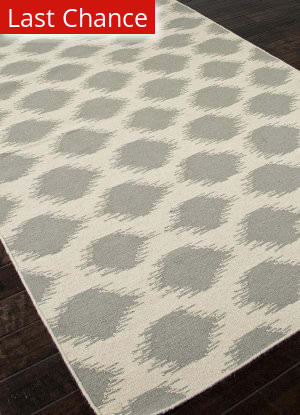 Rugstudio Sample Sale 81877R Antique White / Medium Gray Area Rug