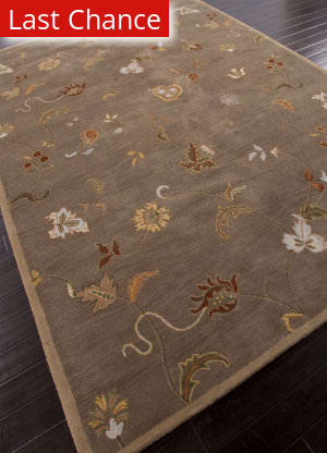 Rugstudio Sample Sale 82245R Taupe Area Rug