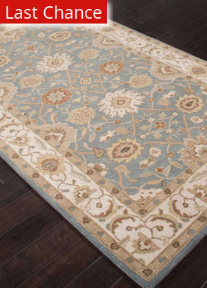 Rugstudio Sample Sale 103847R Seaside Blue Area Rug