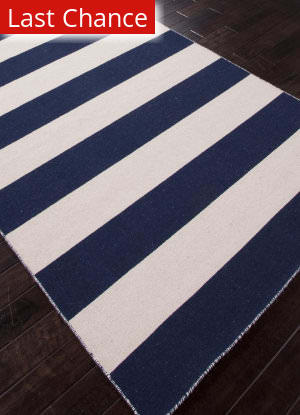 Addison And Banks Flat Weave Abr0634 Medieval Blue / White Ice Outlet Area Rug