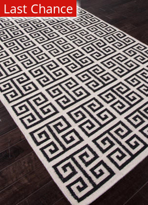 Addison And Banks Flat Weave Abr0710 Antique White - Ebony Outlet Area Rug
