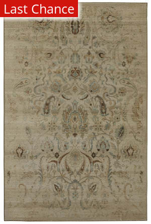 Rugstudio Sample Sale 155954R Butter Pecan Area Rug